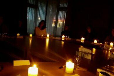 verlichte tafel