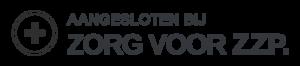 logo aangesloten bij zorg voor zzp